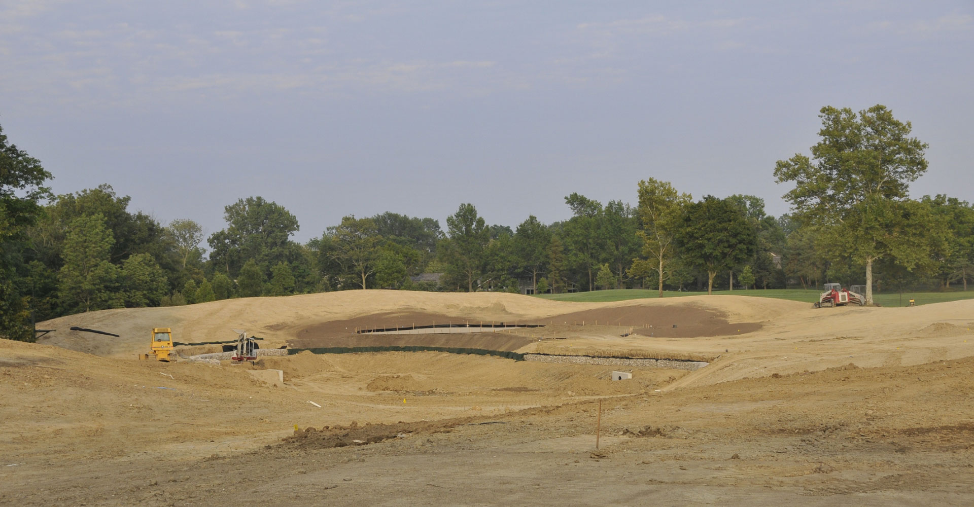 Muirfield golf course before renovations